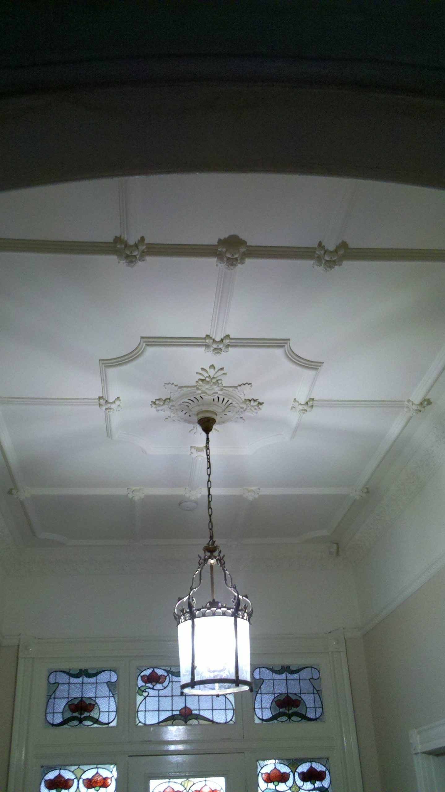 Period ornate ceiling