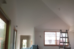 Mitcham extesion after plaster and painting